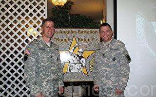 洛杉矶陆军征兵处联合社区送旧迎新