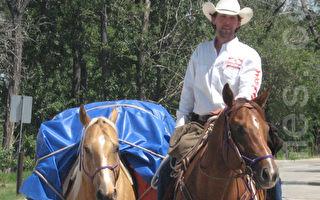 单骑穿越美洲 历时8载 荣归卡尔加里