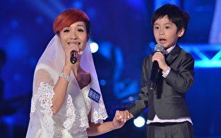 超偶21強決定賽 抗癌媽與兒子同台演唱