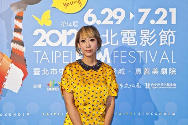 日本知名导演蜷川实花16日离台前特别举办记者会。(图/台北电影节提供)