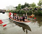 7月20,倫敦奧運火炬接力地63天,結束倫敦外圍火炬接力行程。奧運火炬當晚抵達倫敦 Getty Images)