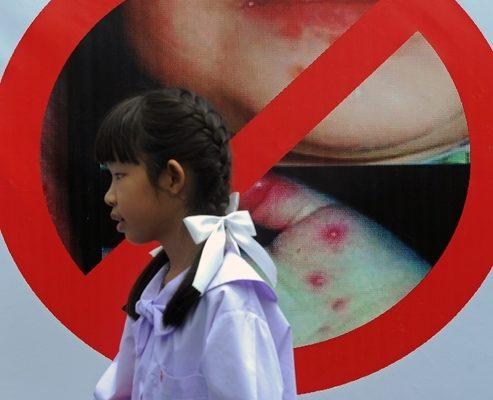 傳染病疫情 北京一周22宗 安徽一月近萬例