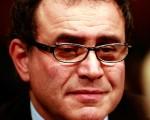 末日博士魯比尼(Nouriel Roubini)認為美國經濟在下半年會繼續保持低速增長,2013年則可能接近停滯。(圖片來源:Win McNamee/Getty Images)