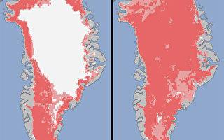 格陵蘭島冰蓋幾全融 憂海面升及病毒蔓延