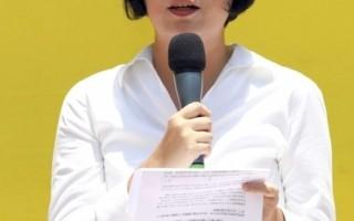 朱婉琪吁港人签名按手印促放法轮功学员