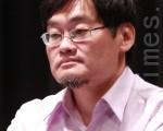 前台湾新闻记者协会会长、前中央社副总,目前为新头壳媒体总制作庄丰嘉。(摄影: 林伯东 / 大纪元)