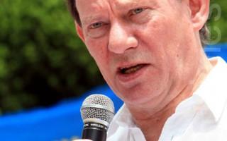 歐議會副主席致函馬英九 緊急營救鍾鼎邦