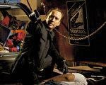 尼可拉斯•凯吉与导演赛门•威斯特睽违15年再度合作,《盗数计时》中挑大梁。(图/甲上娱乐提供)