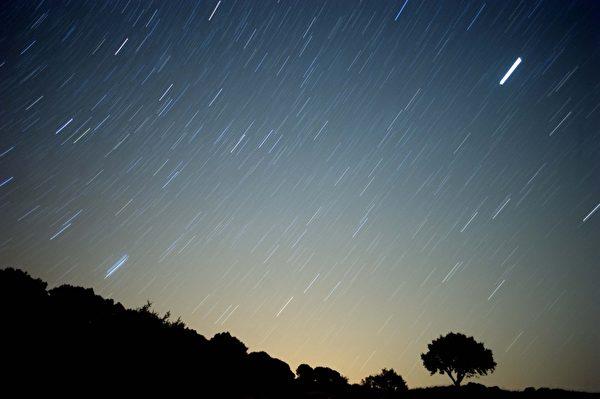 次日皇上臨朝,欽天監奏報,昨夜開始,星星開始倏大倏小、倏長倏縮、倏隱倏現。示意圖。(Jorge Guerrero/AFP/Getty Images)