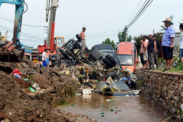 威廉姆斯:中共政權必被洪水吞沒