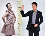 李炳憲和李珉廷公開宣佈戀情。(攝影:李裕貞/大紀元)
