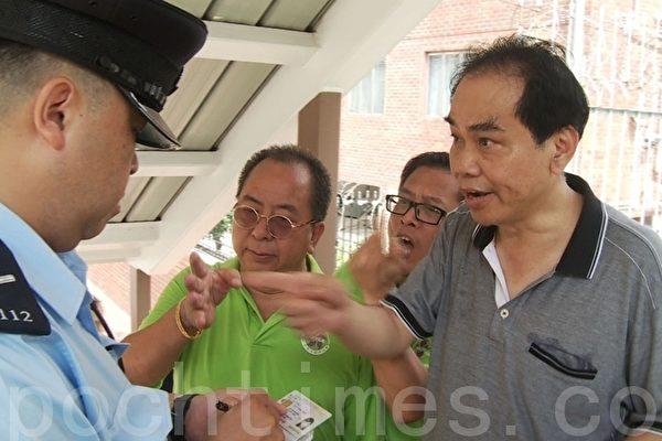 中共惡幫搗亂中國舞賽 襲警辱警無視法治
