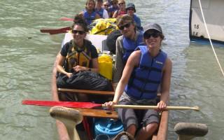 25天菲沙河探险 7加拿大青年收获多多