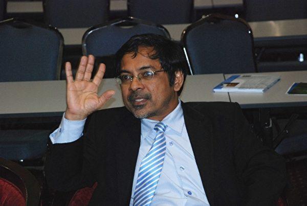 吉隆坡中央医院肾脏部高级顾问暨主任拿督卡沙里医生。(明慧网)