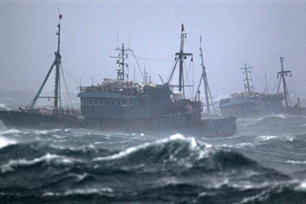最大宗非法捕魚 中國船隊曾入侵朝鮮海域