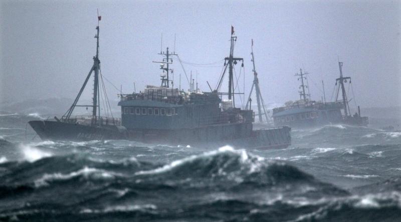 最大宗非法捕魚 中國船隊曾入侵北韓海域