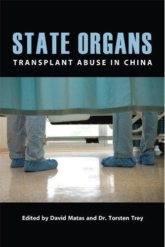 新书《国有器官》封面。(明慧网)