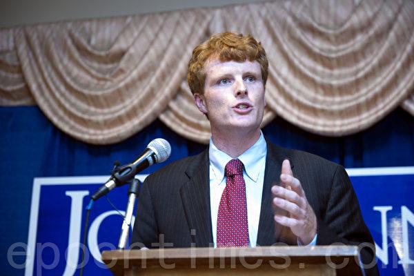 肯尼迪家族第四代贏得麻州國會議員初選