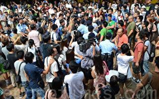 中港再爆冲突 数百港人北区反水货