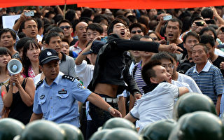 北京等地反日规模空前 领土争端或为中日两手做戏