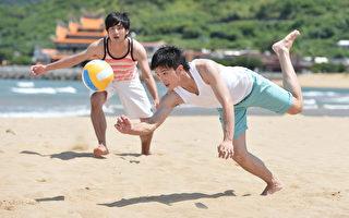 邱澤趙駿亞PK沙灘排球 賴雅妍李毓芬穿泳裝