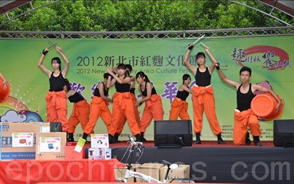 樹林高中的舞蹈表演。(攝影:宋順澈/大紀元)