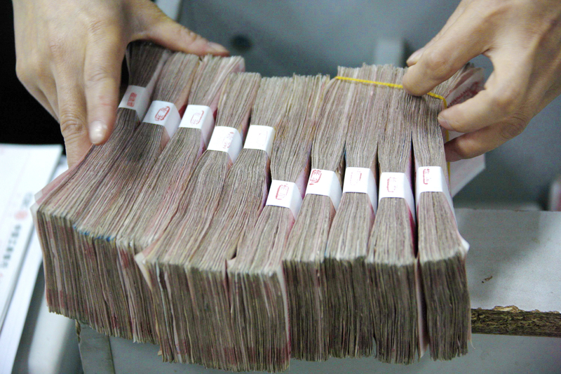 河南省伊川縣的大部分事業單位發不出工資,包括教師,該縣財政局承認疫情導致財政問題,存在工資無法按時發放的情況。(ChinaFotoPress/Getty Images)
