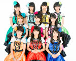 """日本偶像团体""""早安少女组。""""(图/早安家族提供)"""