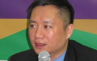 台前行政院長謝長廷登陸 王丹:民進黨接觸公民社會