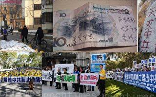 """重庆""""打黑""""警察及官员国殇日退党"""