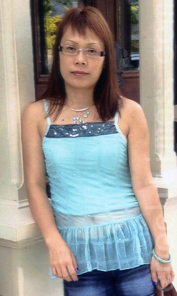 图:华裔单身母亲刘光华。(皮尔警局提供图片)