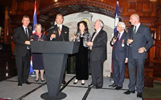 臺灣駐英代表處倫敦舉辦「雙十」國慶酒會
