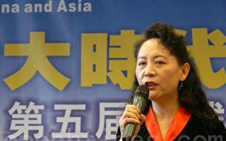 新任民阵主席盛雪:结束共党暴政是当务之急