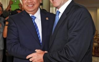 艾伯特会晤印尼总统 未提遣返船民政策