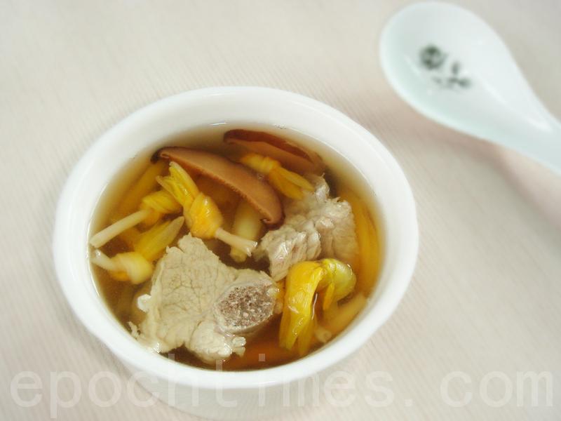 【美食典故】金针汤的由来
