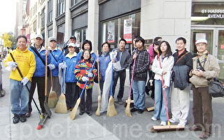 清洁华埠 人人有责