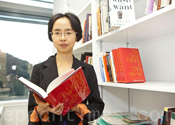 《中国大饥荒,1958-1962》作者、香港大学历史系助理教授周逊。(图:余钢/大纪元)
