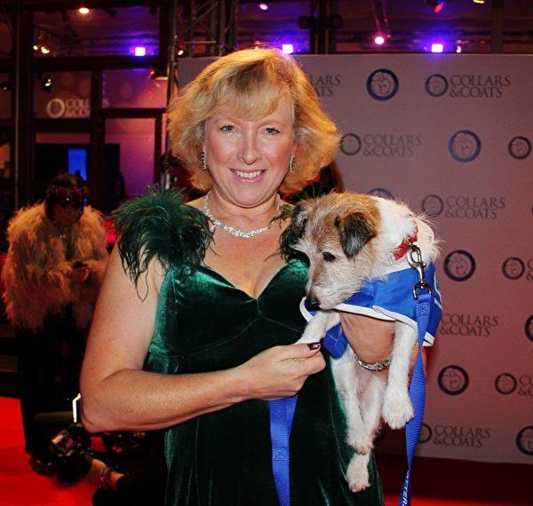 巴特西猫狗之家的CEO克莱尔•霍顿女士(Claire Horton)(摄影:李景行/大纪元)