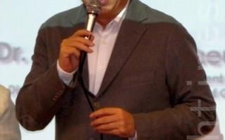 陈凯歌出席港大讲座  吁保障人权