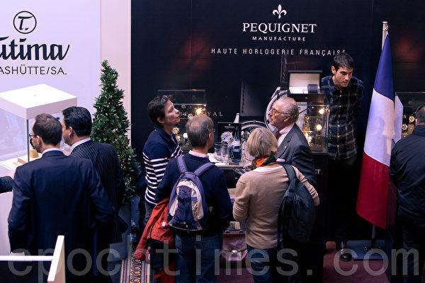 時尚慕尼黑提供人們交流平台(攝影:黃芩/大紀元)