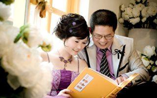 劉惠娟的婚紗照。(劉惠娟提供)