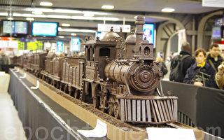 """世界最长巧克力火车""""开""""到比利时"""