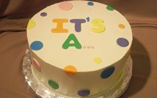 蛋糕代替超音波 辨识胎儿性别