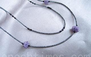 創意飾品DIY:當寧靜紫遇見優雅灰