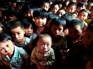 後楊村感染了愛滋病病毒的父母中,1996年以後所生的孩子中有38%也是愛滋病病毒感染者。(高耀潔提供圖片)