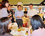雲林新任建設處長許智凱暢談施政理念。(縣府提供)