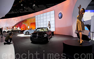 組圖:洛杉磯車展開幕  50款新車登場