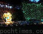 纽省警方提醒人们防范圣诞灯饰引发火灾(摄影:简玬/大纪元)