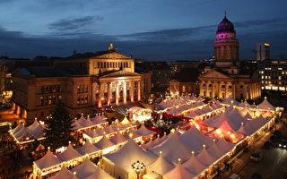 組圖:德國聖誕市場開張了