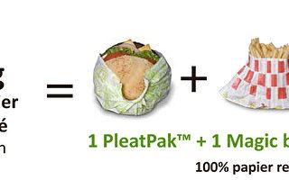 法國公司發明了未來快餐新包裝
